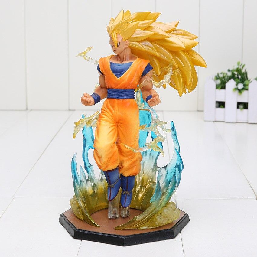 Dragon Ball Z Super Saiyan 3 Goku Pvc Action Figure