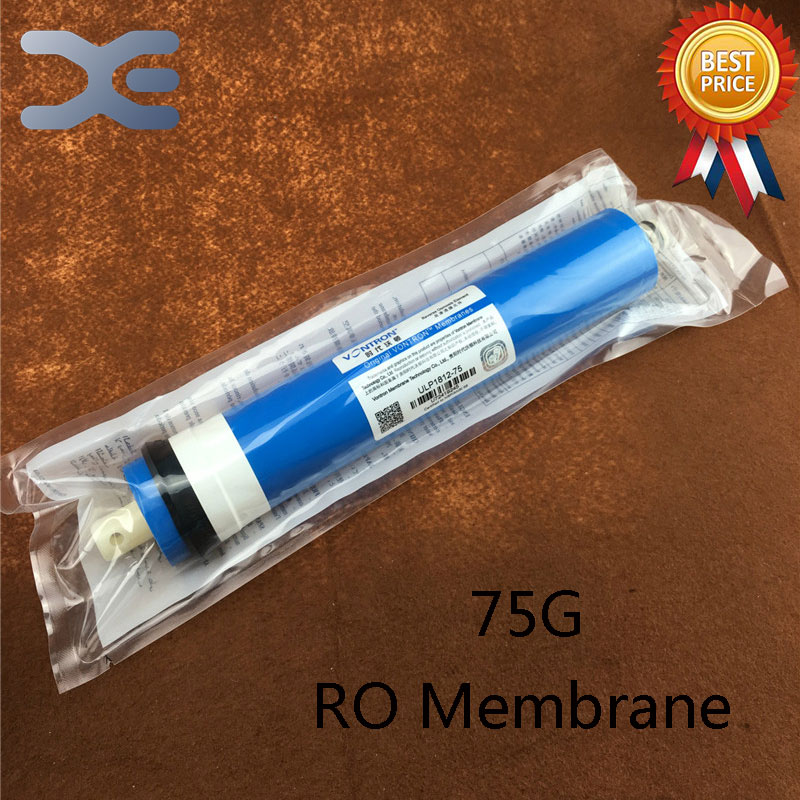 75G Reverse Osmosis RO Membrane Household Water Purifier 75 Gallons RO Film Filter Water Tank Filter Accessories 2 pcs water filter parts 1 4 tank ball valve for tube quick connect switch water purifier ro reverse osmosis system