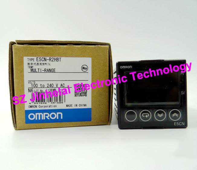 OMRON Digital temperature controller E5CN-R2HBT  New and original AC100-240V