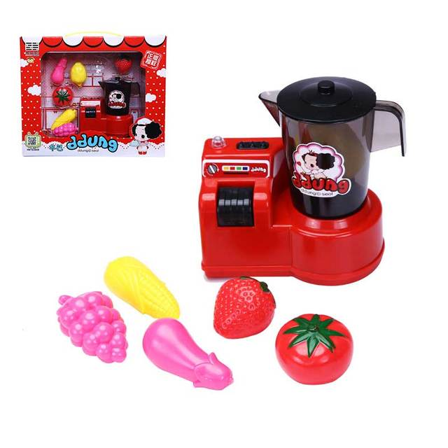 Toy Food Processor : Girls pretend play toy food processor turnable juice