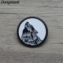 L3400 Viking Wolf Metal Enamel Pin for Backpack/Bag/Jeans Clothes Badge Lapel Pin Brooch Jewelry 1pcs l3401 yin yang wolf viking rune metal enamel pin for backpack bag jeans clothes badge lapel pin brooch jewelry 1pcs