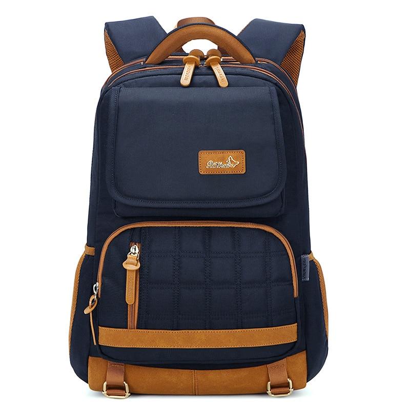 Waterproof Orthopedic Backpack Children School Bags Kids Book Bag High Capacity School Backpack For Teenagers Girls Boys mochila-in Backpacks from Luggage & Bags
