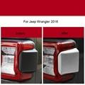Для Jeep Wrangler 2018 металлическая/ABS Высококачественная Автомобильная задняя фара противотуманная фара задняя крышка Накладка автомобильные Ст...
