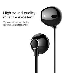 Image 3 - Baseus h06 3.5mm com fio fone de ouvido com microphoe fone de ouvido estéreo para iphone 6s plus para samsung s10 fones de ouvido
