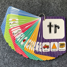 126 pcs/set English Phonics Card with Pronunciation for Kids to Learn English – Educational Toy