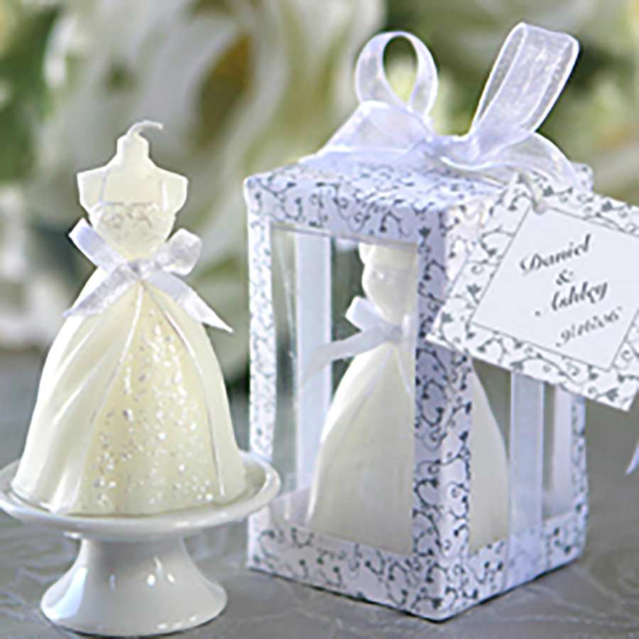 ᗛCreative Wedding Candles Favors Decoration Craft Bougies D ...