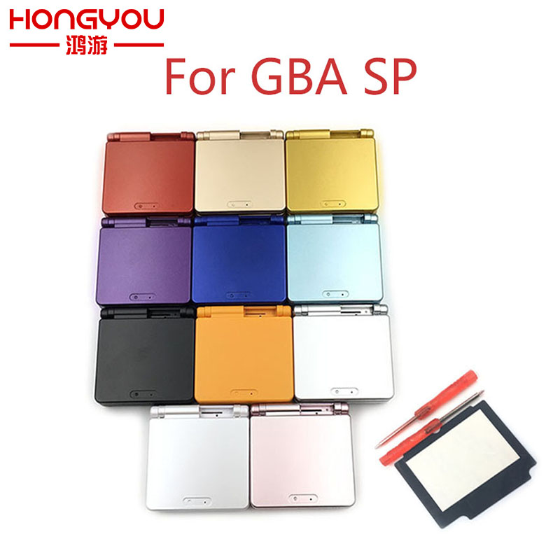 For Nintendo GBA SP For Gameboy Housing Case Cover Replacement Full Shell For Advance SP