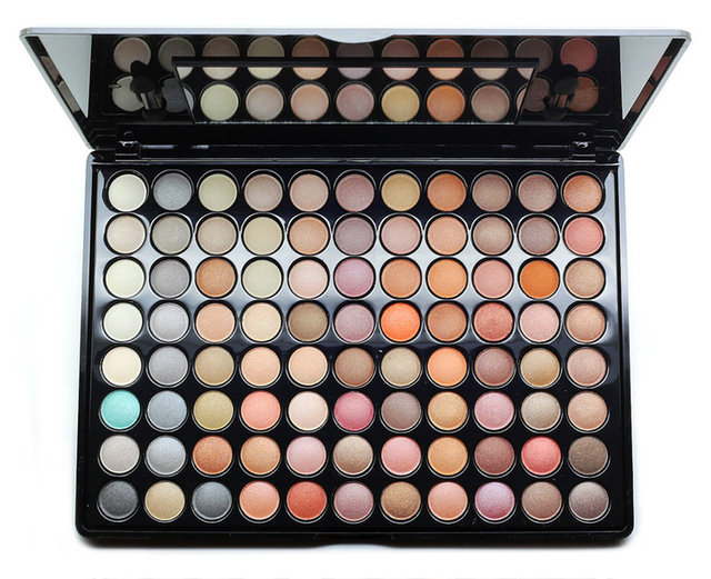 88 color eye shadow color matte pearl nude make-up makeup palette earth suit send makeup eye shadow brush