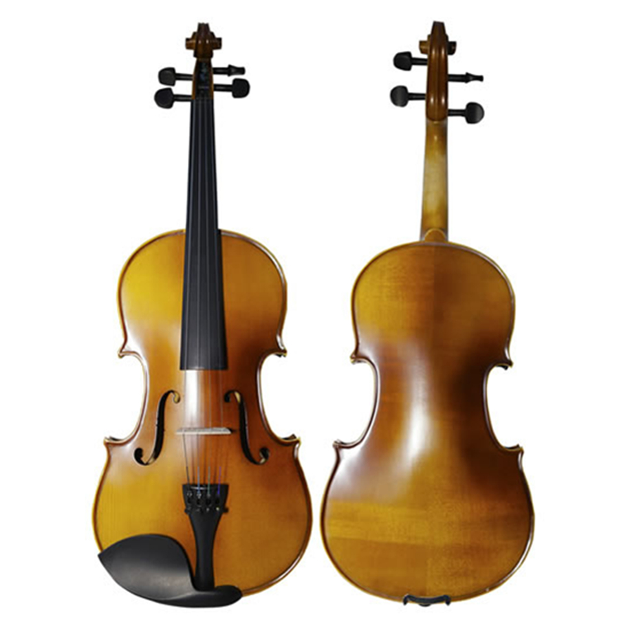 Matte Violin 4/4 3/4 Violon Fiddle Musical Instrument with Case Bow Strings Full Set Accessories handmade Violino for Beginner handmade violin fiddle high quality stringed musical instrument violino 4 4 maple violino with violin bow case for beginner