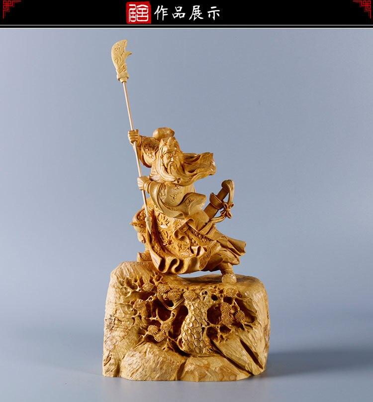 Yueqing Самшит резьба Бутик украшений украшения, резьба по дереву Art дар Божий фигуру