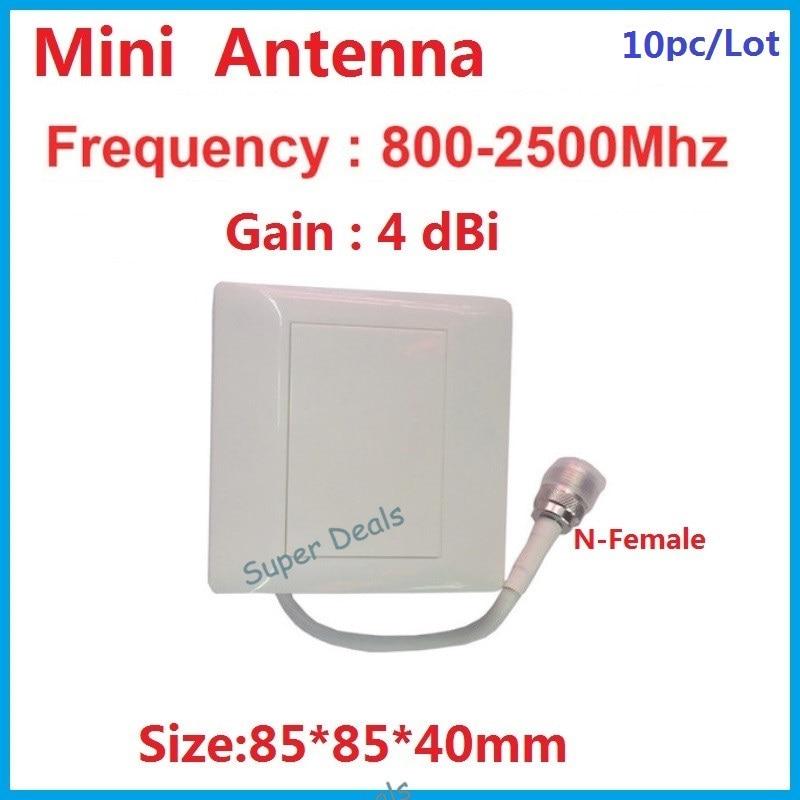 4dbi waterproof 800-2500Mhz indoor outdoor Panel antenna gsm 3G radio antenna LTE 4G panel antenna mini FDD TDD antenna 10pc/lot