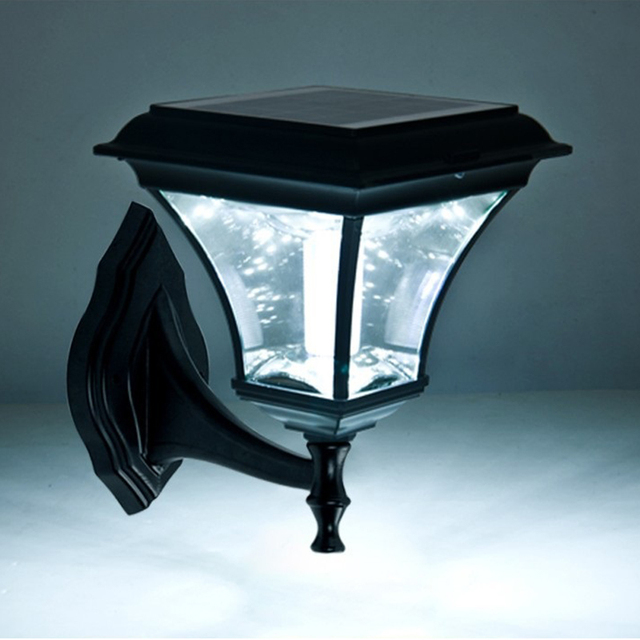 Helle Outdoor Led Solar Garten Wandleuchte Wasserdicht Veranda Lampe