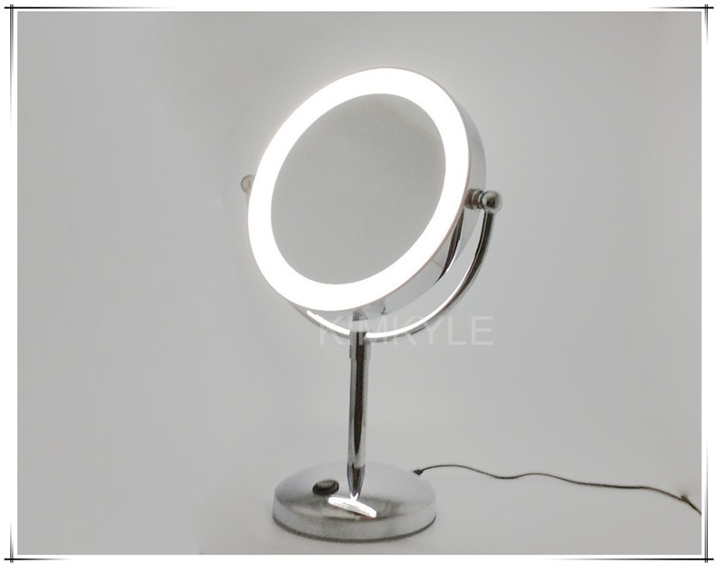 8 5 Inches 2 Face Cosmetic Mirror High Grade Bathroom Led