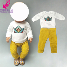 born baby doll clothes sweater and pants 18 inch american do
