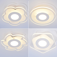 Modern Acrylic LED Ceiling Lights Fixture For Indoor Lamp Lamparas De Techo Surface Mounting Ceiling Lamp