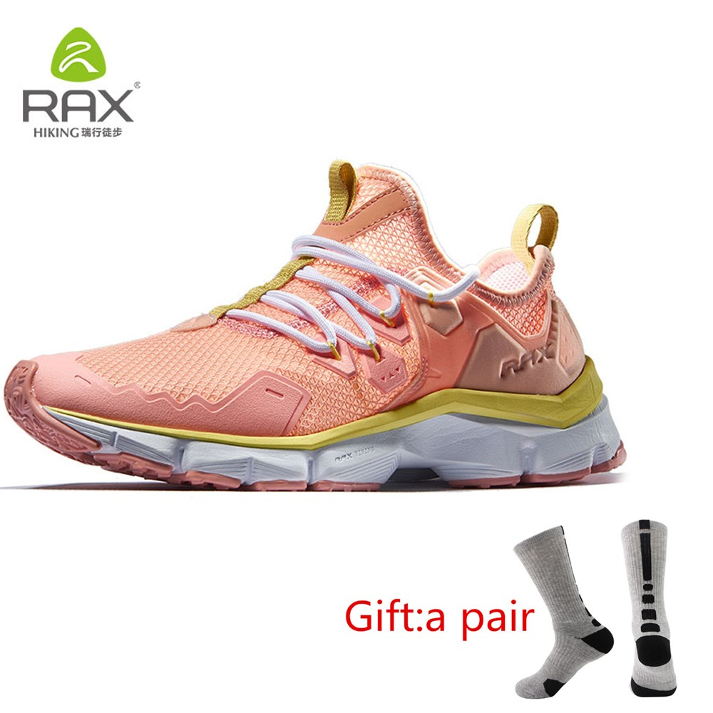 RAX Women Summer Breathable Running Shoes for Professional Outdoor Sports Sneakers Women Lightweight Walking Shoes With gift