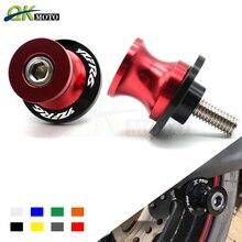 Motorcycle CNC 10mm Swingarm Sliders Spools Paddock Stand Bobbins Swing Arm For Yamaha YZF-R6 YZF R6 YZFR6 YZF R1 R3 цена