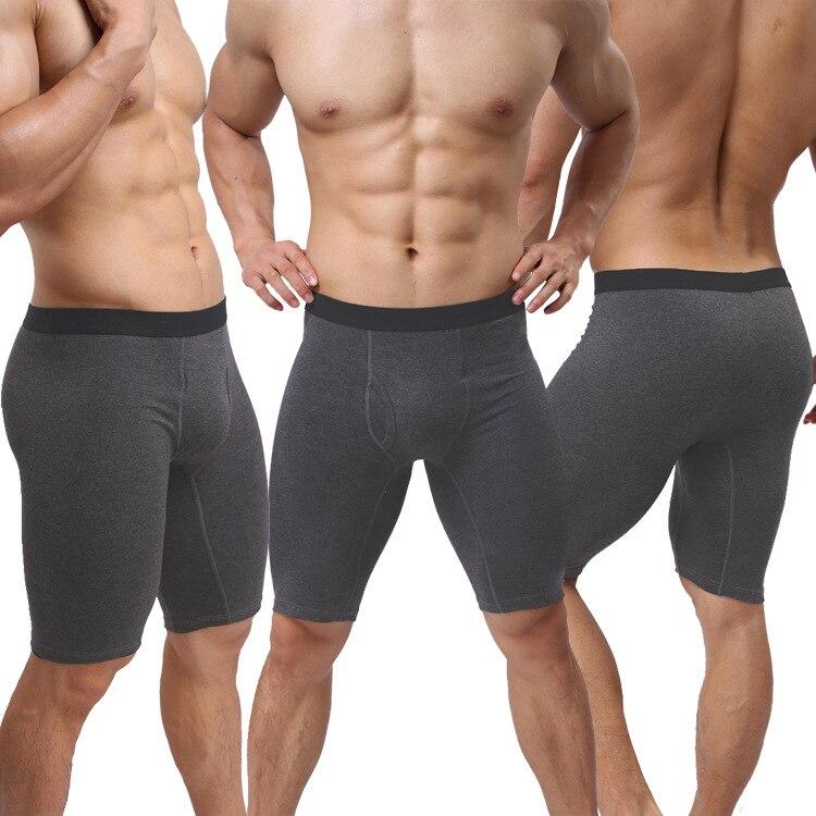 6 Colors Underwear Men Cotton Boxer 3pcs/lot Pouch Open Boxers Shorts Calvin Calzoncillos Hombre Cueca Underpants Boxers Trunks Traveling Men's Underwear Boxers