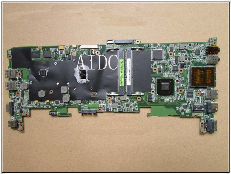 For ASUS U36SD Laptop Motherboard (System board/Mainboard) without heatsink & fan fully tested & working good anti cut siren alarm dc 9 12v