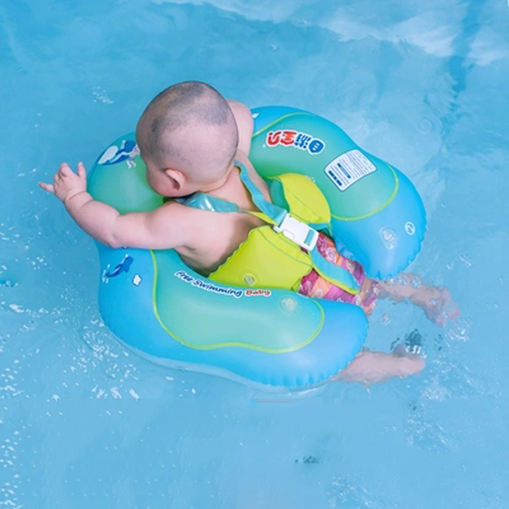 Swimming Baby Accessories Infant Swimming Circle Inflatable Circle Floating Baby Swimming Ring Inflatable Double Raft Rings Toy
