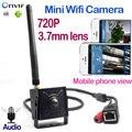720 P Mini Câmera IP Câmera de Rede de Áudio CCTV câmera Suprot P2P Câmera de Segurança home Sem Fio Do Telefone Móvel microfone Externo