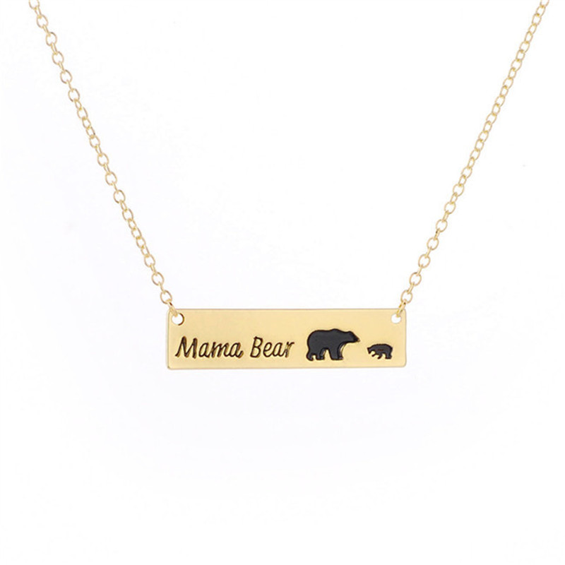 blossom sweet mama bear necklace at gifts
