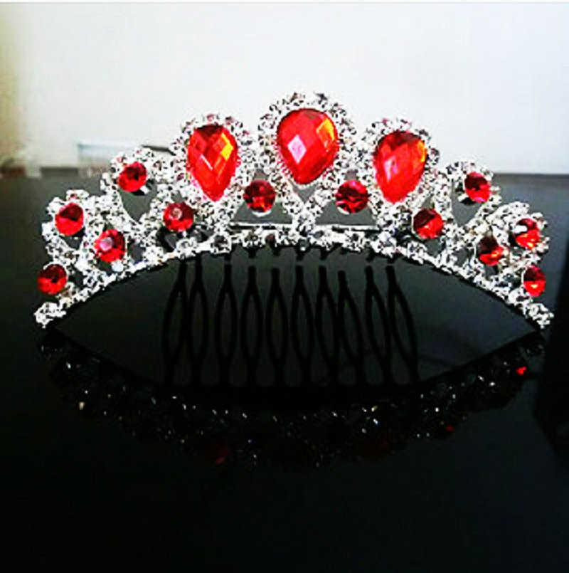 HTB1S7weMVXXXXaEXpXXq6xXFXXXz Majestic Prom Pageant Wedding Bride Bridesmaid Jewelry Comb Tiara - 13 Styles