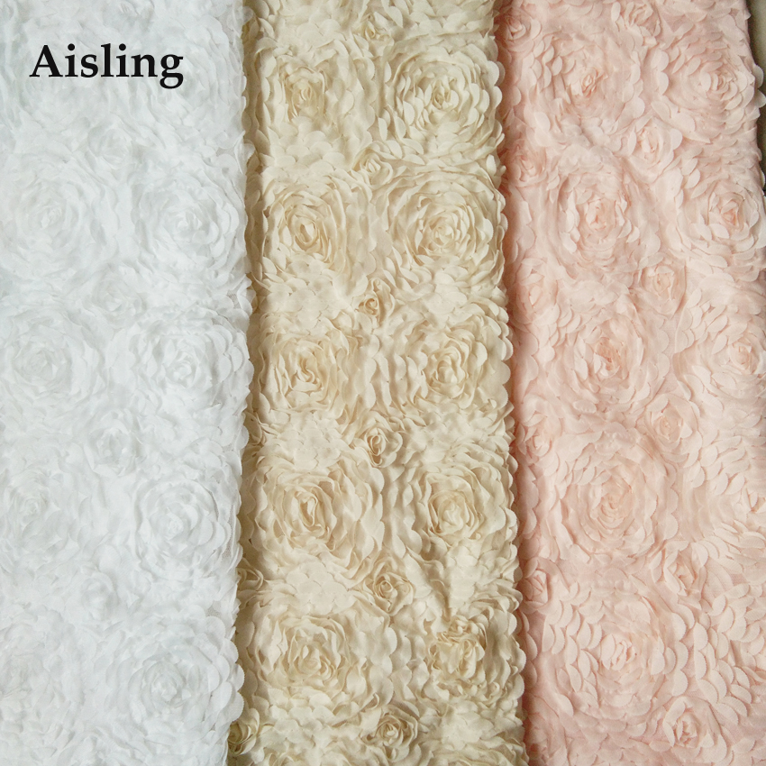Online Buy Wholesale fabric flowers for wedding dresses from China