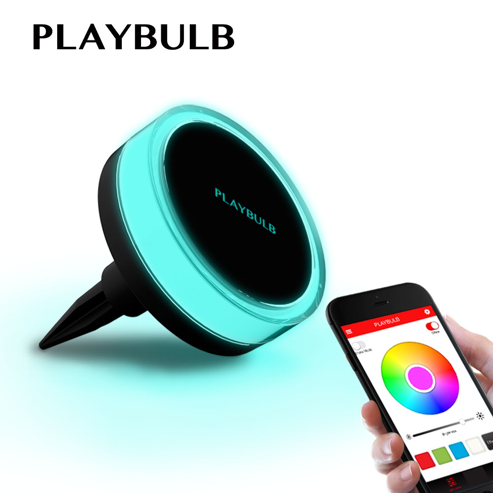 PLAYBULB Waterproof LED Solar Garden Color Smart Light Yard Lawn Outdoor Decor Lamp Free APP Control RGBW Colors Changed free shipping crack ball solar lamp vintage garden lawn colorful led light solar charging panel lamps1004