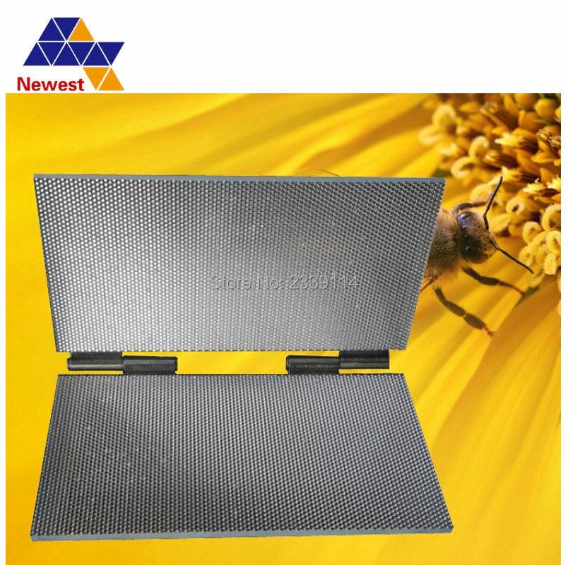 220*420mm Manual Beeswax Comb Foundation Sheet Mold Press Machine