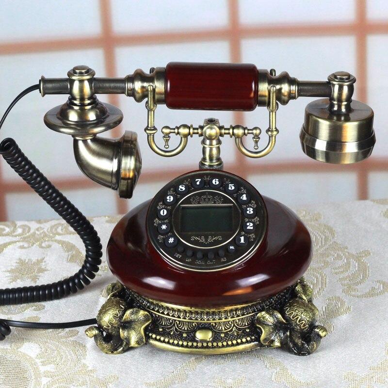 Retro telefon domů dekorace dárky Zboží pro domácnost Hodně štěstí dárek obchodní dárky Vintage telefon