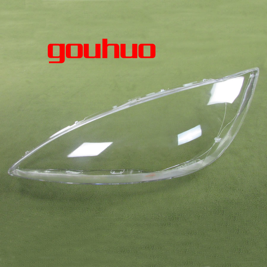 цена на transparent lampshade lamp shade front Headlight shell glass lens For Toyota Camry 2005 2pcs