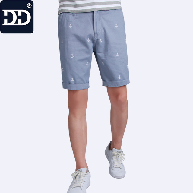 Dingdi 2017 New Summer Mens Shorts Cotton Best Quality Shorts Men