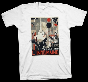 L'inhumaine T-Shirt Marcel L'Herbier Jaque Catelain Cinema Film Movie Theater image