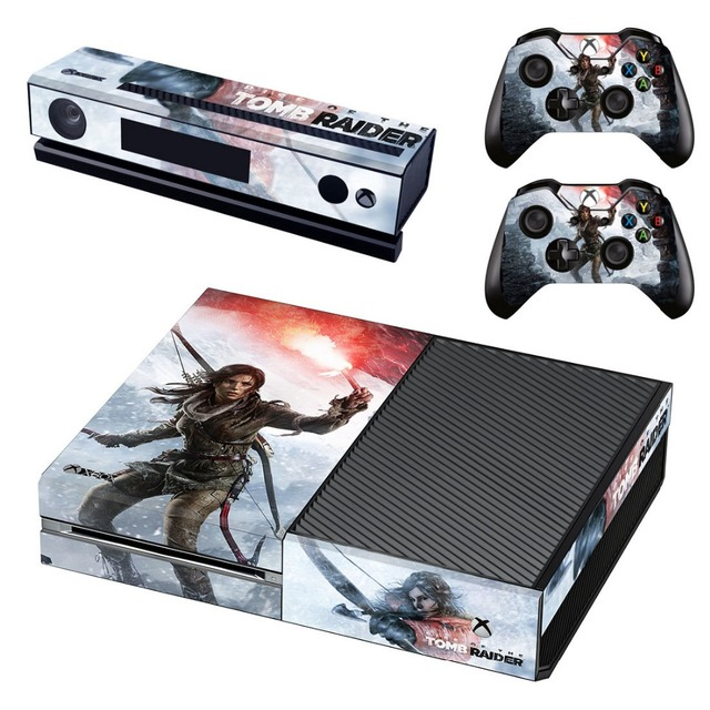 Stickers For Xbox One Game Vinyl Skin Decals Sticker Console Controllers Protector Cover 2018 New Arrival Shadow Of The Tomb