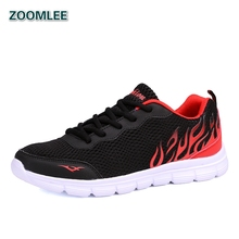 2016 Sneakers Men's Running Shoes Air Mesh Breathable Brand Sport Run Shoes Lightweight Athletic Outdoor Trainers Zapatillas