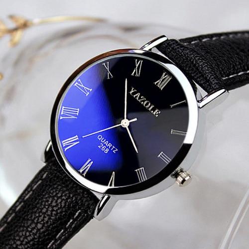 New Design Luxury Women Ladies Wrist Watch Leather Wa