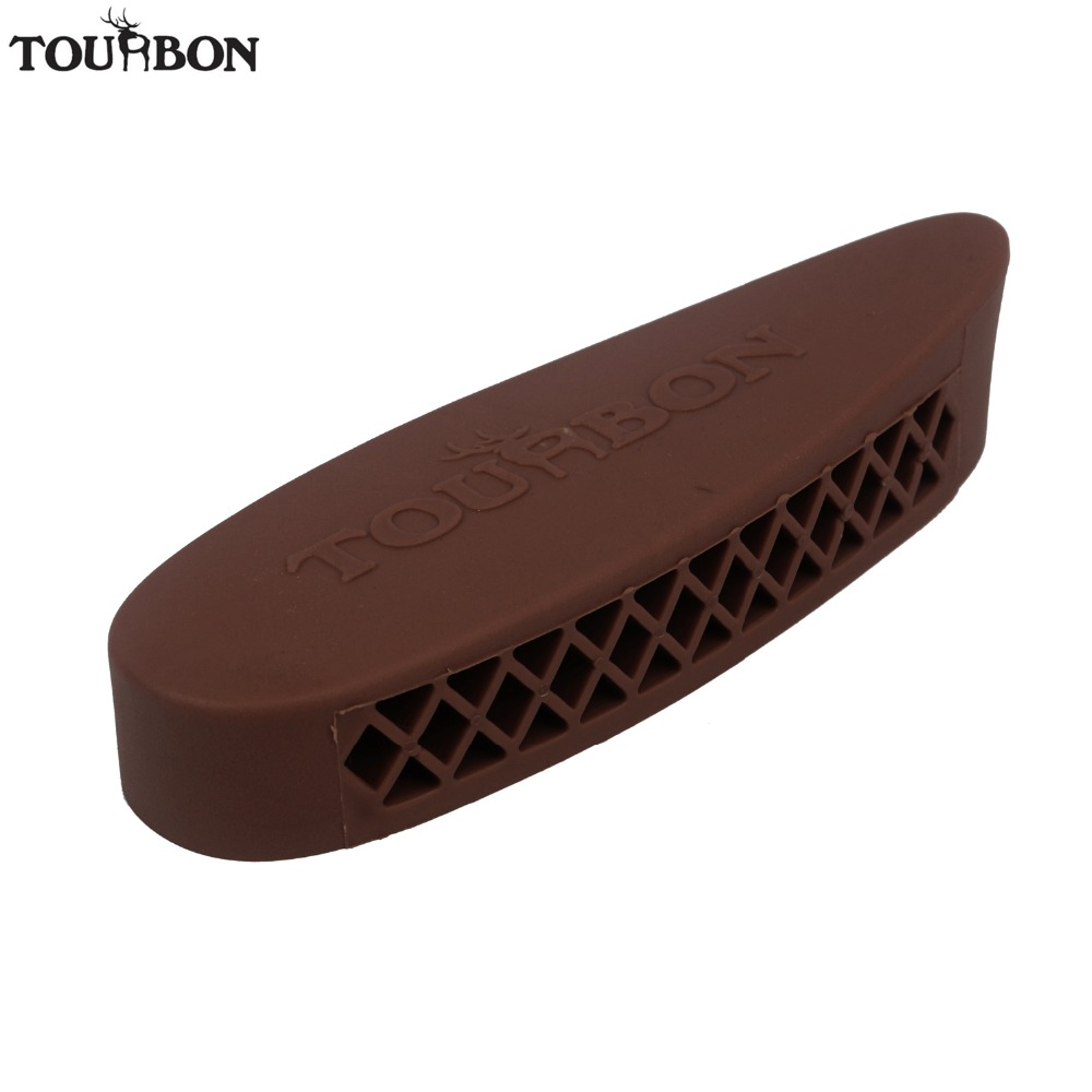 Tourbon Tactical Hunting Gun Accessories Rifle Shotgun Recoil Pad Rubber Buttstock Pad Non-Slip Shoulder Protector Soft