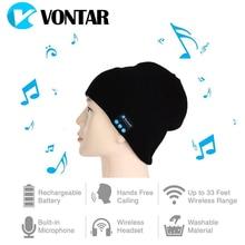 VONTAR MK-1 MK-2 Wireless Bluetooth headphones Music hat Smart Caps Headset earphone Warm Beanies winter Hat with Speaker Mic