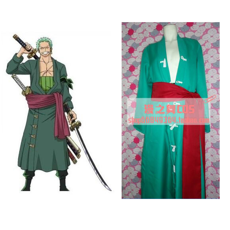 2016 One Piece Roronoa Zoro Cosplay Costume