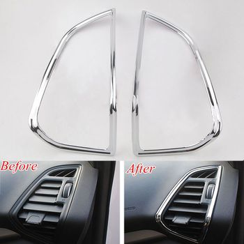 NEW Chrome AC Air Vent Outlet Cover Trim for Ford KUGA ESCAPE 2013 2014 2015