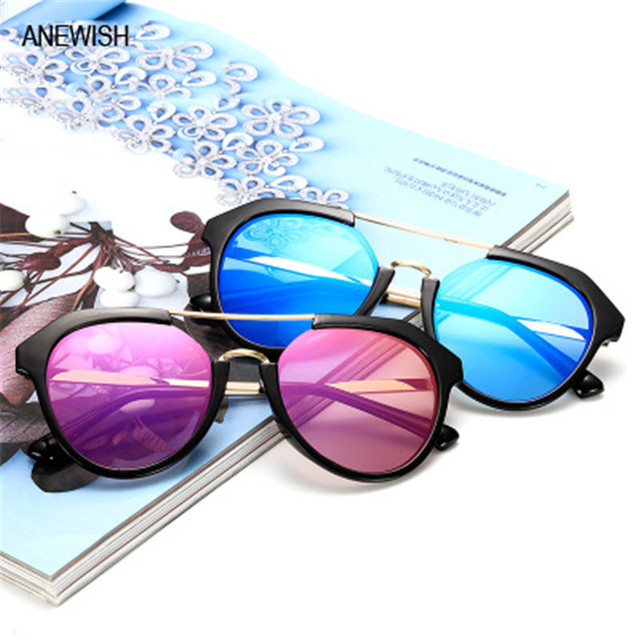 62f05f9302 Brand Designer Colorful sunglasses Women fashion big frame sunglass retro  wild street shooting female driving sun
