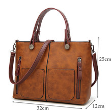 Casual Vintage Shoulder Bag