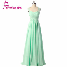 Bridesmaid Dresses 2017 Coral Burgundy Mint Navy Color Off The Shoulder Floor Length Chiffon Vestido Madrinha Bruidsmeisjes Jurk