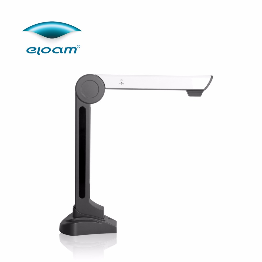 Eloam 5.0 MP LED CMOS portable Business card document scanner S500P