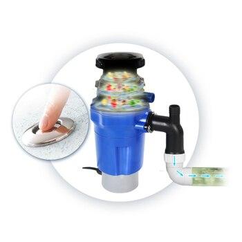 вывоз мусора из нержавеющей стали | ITOP Электрический обработчик пищевых отходов вывоз мусора Кухня бытовой 380 W/500 W 220V штепсельная вилка европейского стандарта