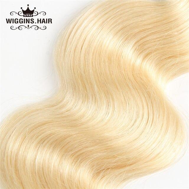 Online Shop Wiggins 613 Blonde Hair Bundles Malaysian Body Wave
