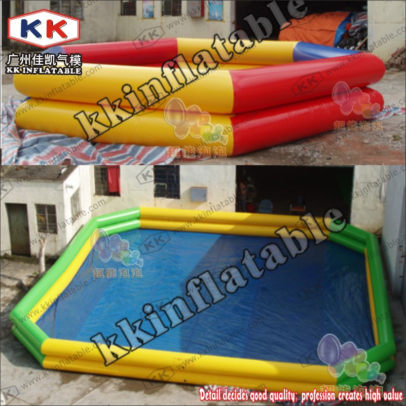 Durable PVC Whole Sale Inflatable Pool Colorful Swimming Pool For Water Balls