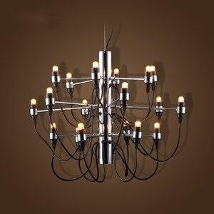 Image 2 - Nowoczesne żyrandole oświetlenie domu lampa wewnętrzna nabłyszczania de para cristal sala de janta żyrandol do jadalni salon sypialnia