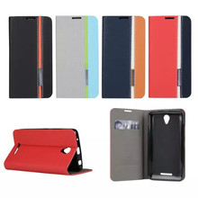 Business & Fashion TOP Quality Stand Flip Leather case for Lenovo A5000 Mobile Phone Case Cover Mixed Color Luxury